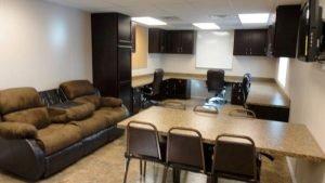 Oilfield Housing | 35' Bump Office kitchen