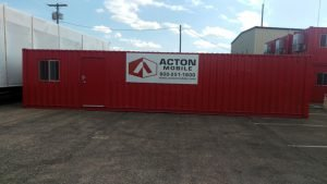 Container Conversions | 40' Office Storage
