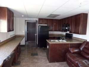 Oilfield Housing | Dbl Ender Living Kitchen