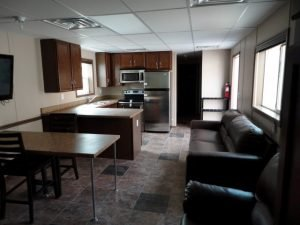 Oilfield Housing | Crew Quarters | Living Kitchen